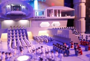 Legoland Star Wars exhibit
