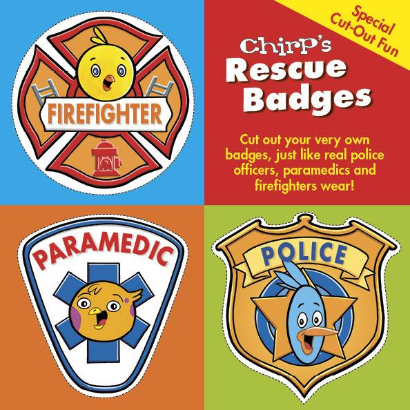 Chirp Hero badges