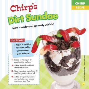 Chirp Magazine Father's Day Recipe