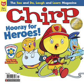 Chirp Magazine Remember to take our May issue survey!