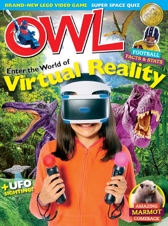 Owlkids Owl Magazine Owlkids