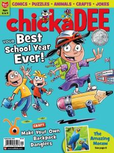 chickaDEE September cover