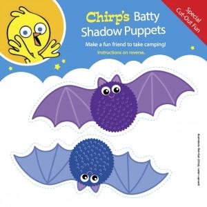 chirp bat puppets summer 2014