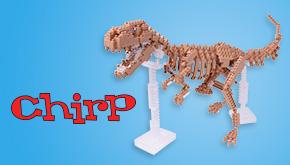 Chirp 2016 Dinosaur Contest button