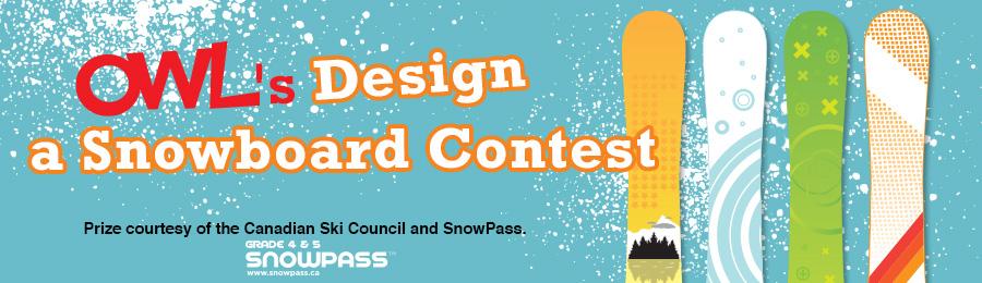 OWL's 2016 Design a Snowboard Contest