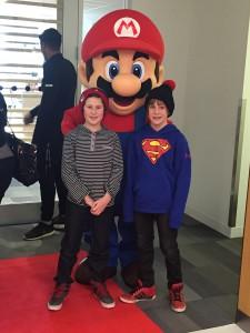 Mario mascot