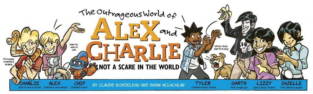 Alex & Charlie banner