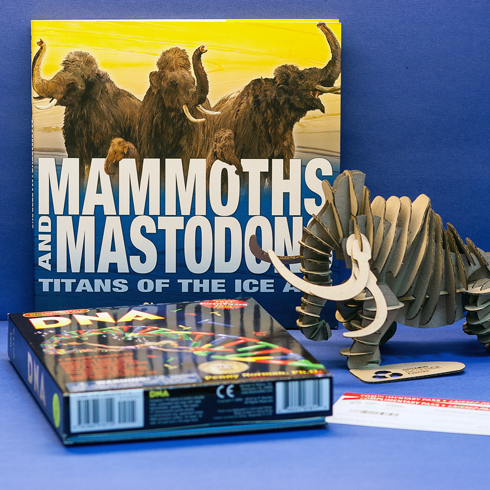OSC Mammoths and Mastodons contest prize pack