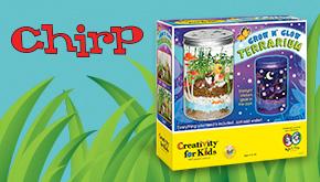 Chirp June 2016 Garden Contest button