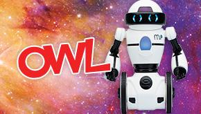 OWL Magazine June 2016 Design a Robot contest button