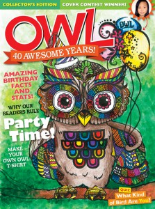 OWL Magazine June 2016 cover