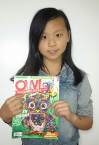 Jenny and OWL Magazine