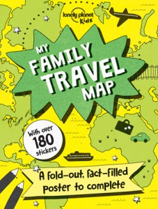 Lonely Planet Kids - Family Travel Map