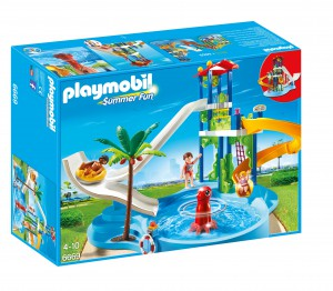 playmobil water park first day of summer contest chirp