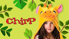 Chirp Magazine: Jungle Contest Button
