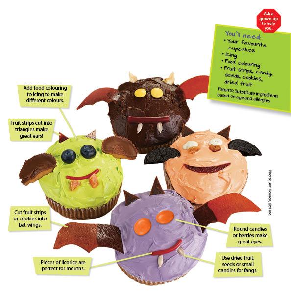 Spooky Cupcake Recipe