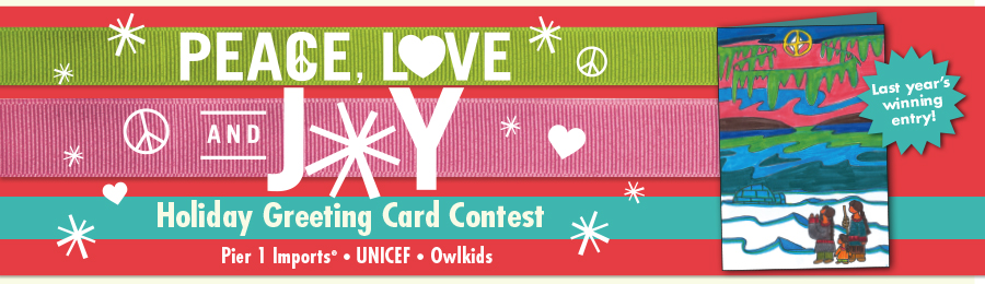 Owlkids: Unicef Contest Banner