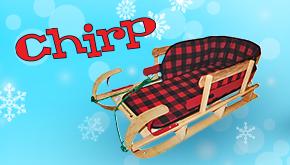 Chirp December 2016 contest button