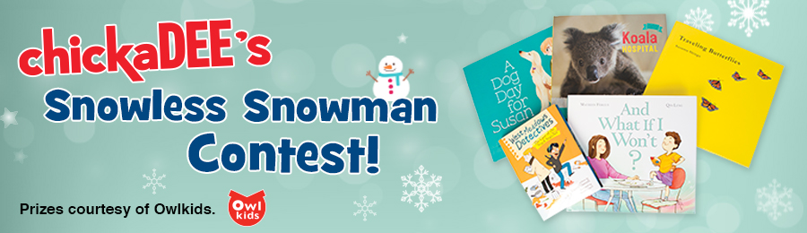 chickaDEE December 2016 Snowless Snowman Contest