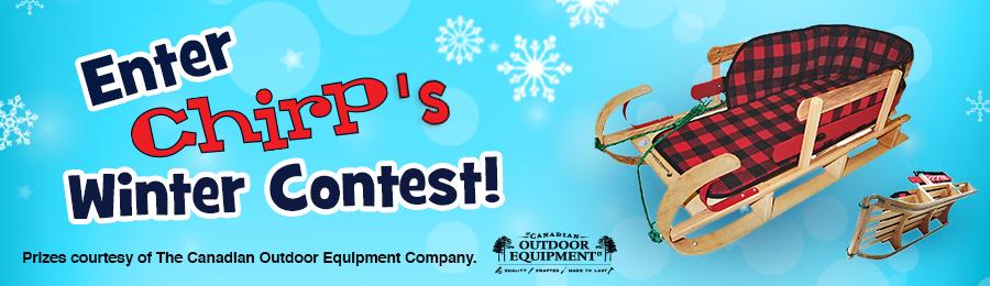 Chirp December 2016 Contest banner
