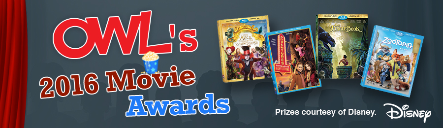 OWL December 2016 Movie Awards Contest banner
