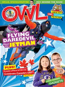 OWL Magazine March 2017 cover