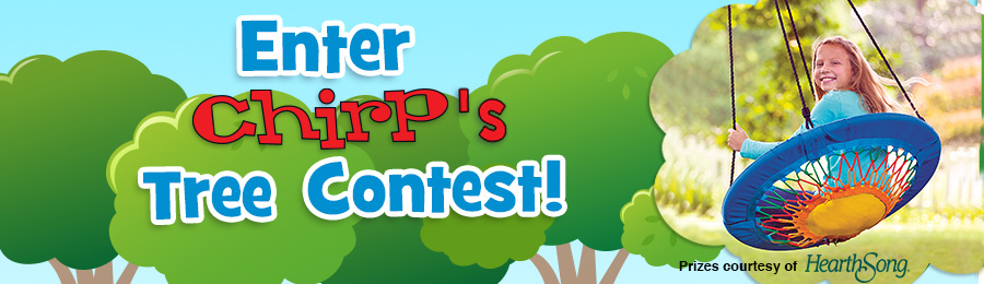Chirp Magazine: Tree Contest Banner