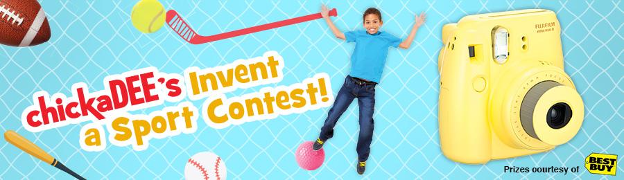 chickaDEE Magazine: Invent a Sport Contest