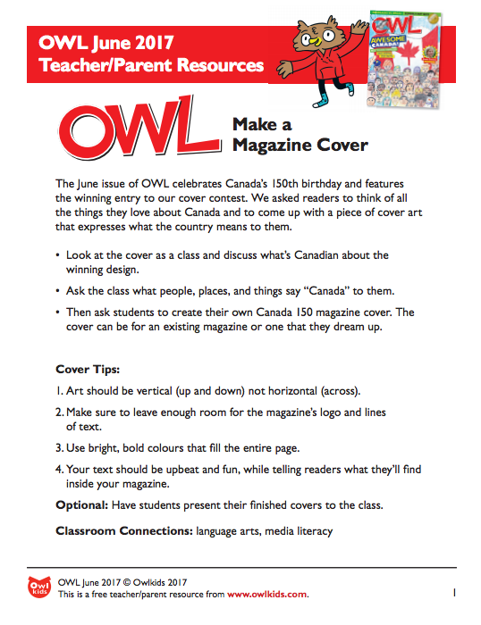 OWL Magazine: Learning Resource