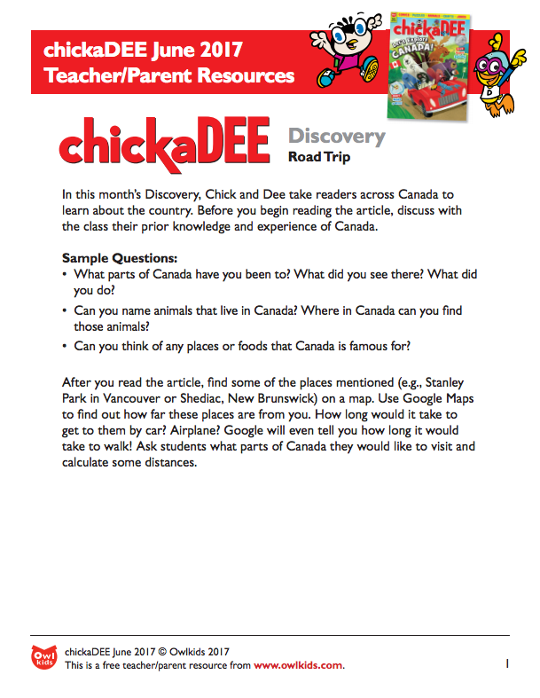 chickaDEE Magazine: Resource