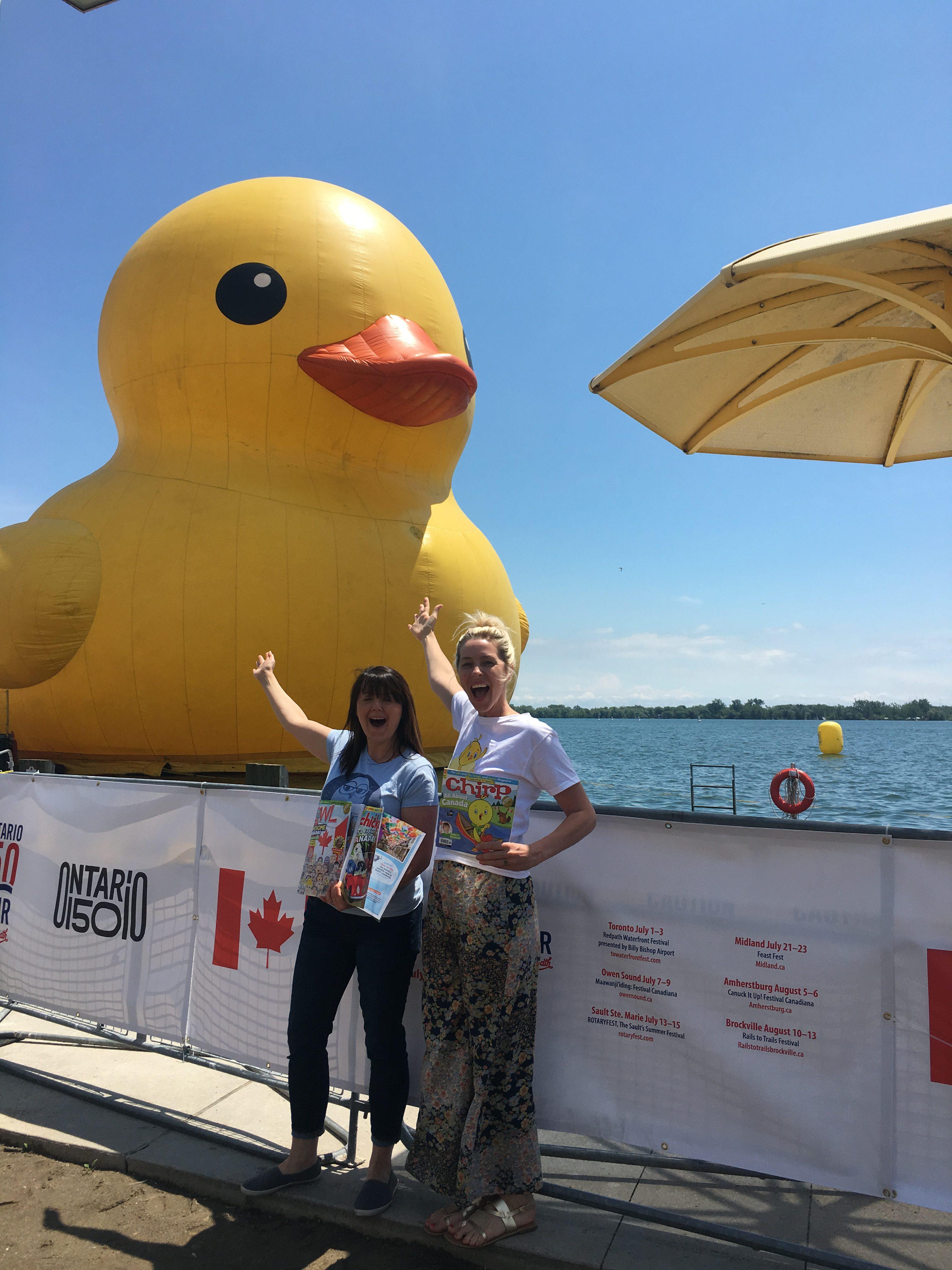 chickaDEE Magazine: World's Largest Rubber Duck