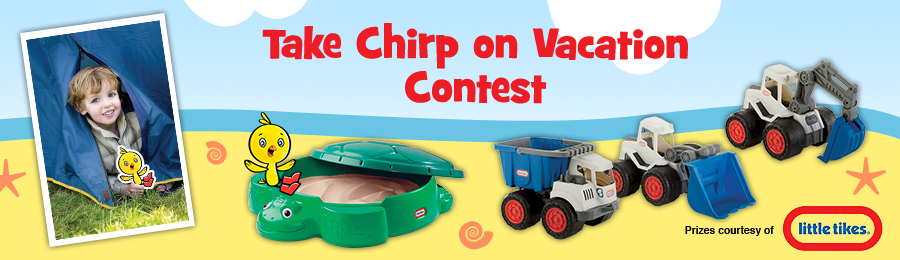 Chirp Magazine: Take Chirp on Vacation Contest