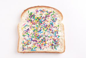 bread with sprinkles