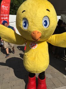 Chirp had an amazing day meeting fans of his magazine, books, and tv show.