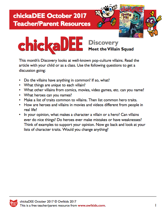 chickaDEE Resource