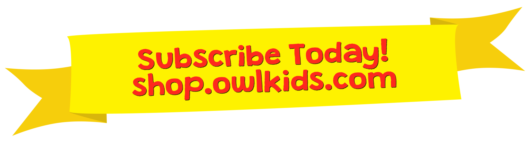 Subscribe Today banner