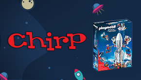 Chirp Magazine Space Contest Button