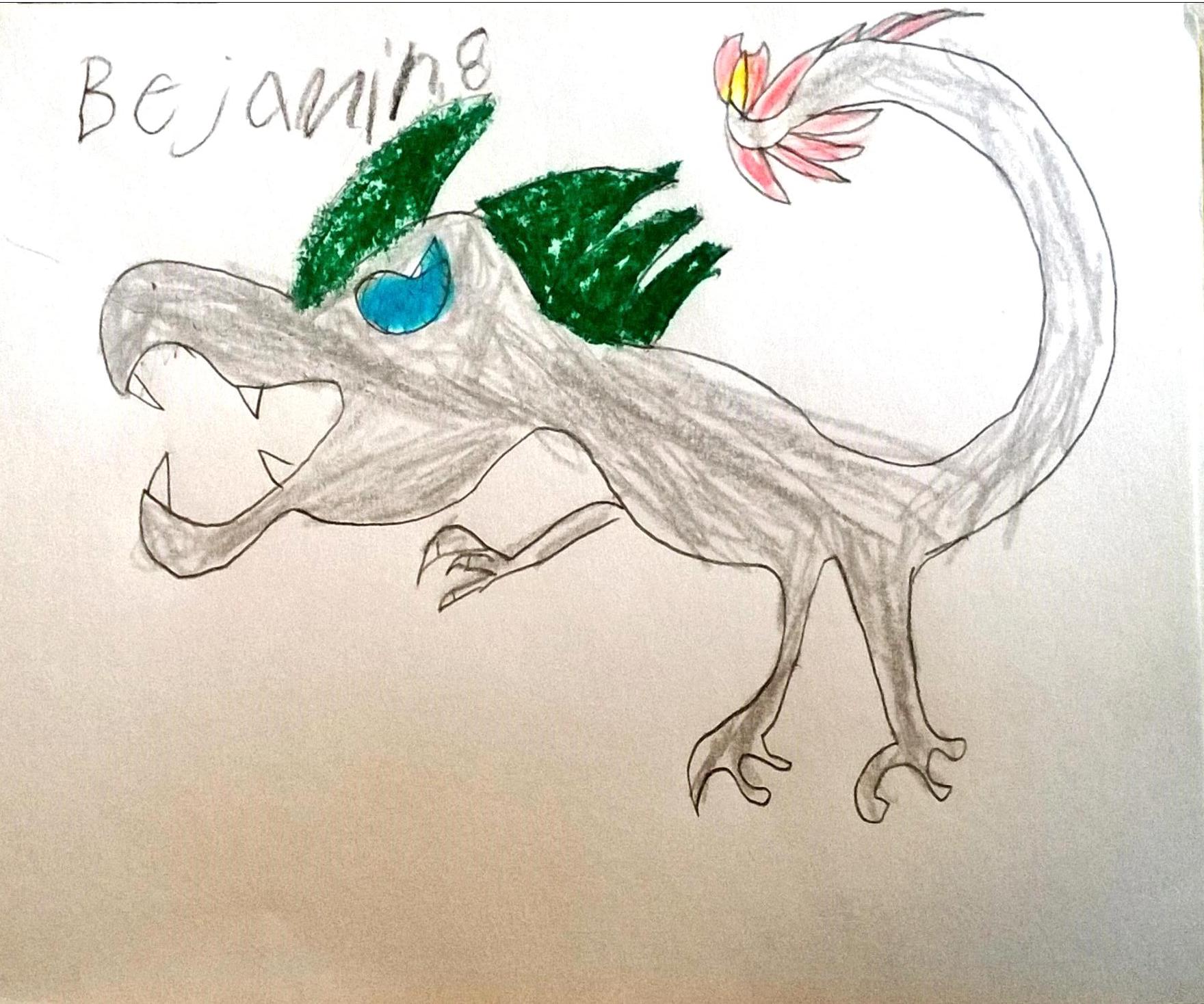 Benjamin, 8 reader art
