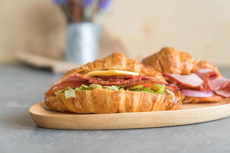 Chirp Magazine: Croissant Sandwich Recipe