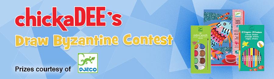 chickaDEE Magazine: Byzantine Contest Banner