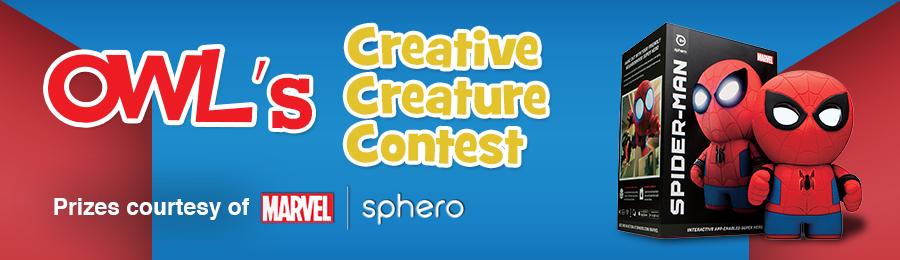 April OWL Magazine'sOWL Magazine: Creative Creature Contest