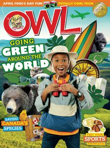 OWL Magazine cover April 2018