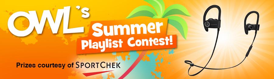 OWL Summer Playlist Contest Banner