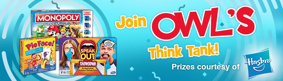 OWL Think Tank Banner