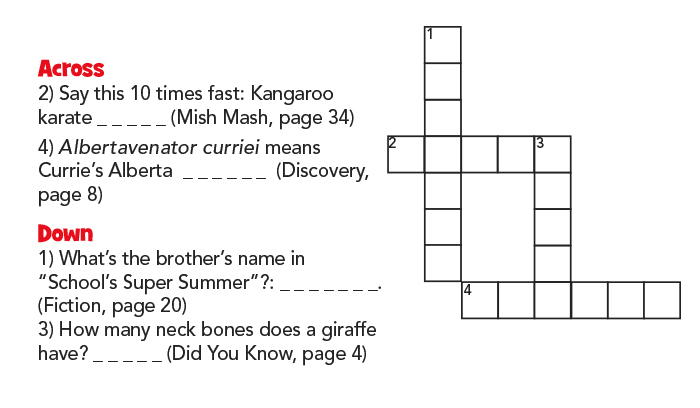 chickaDEE's Crossword Contest Puzzle