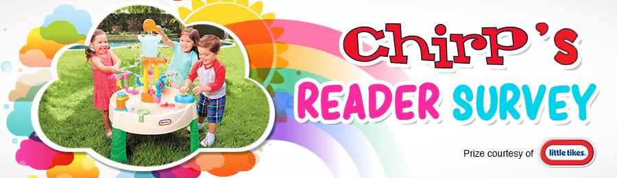 Chirp Reader Survey: Contest Banner