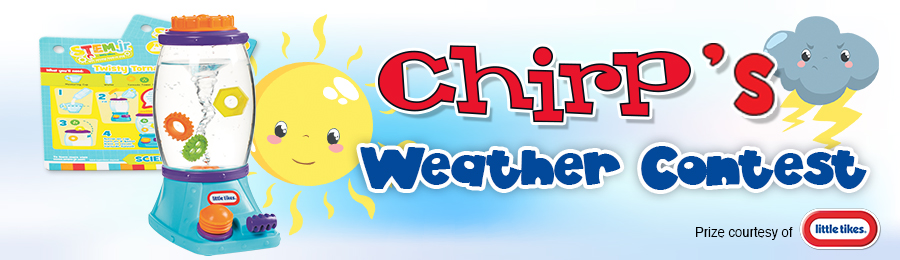 Chirp Weather Contest Banner