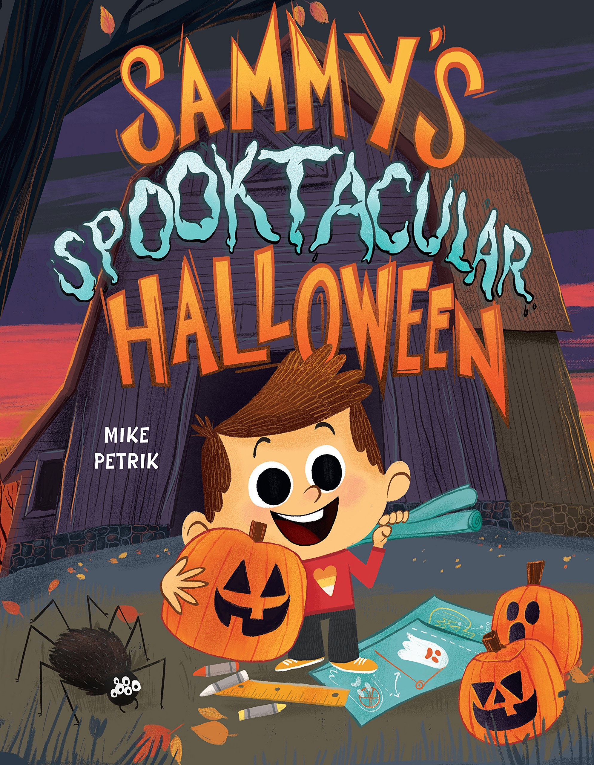 Sammy's Spooktacular Halloween_9781503901797
