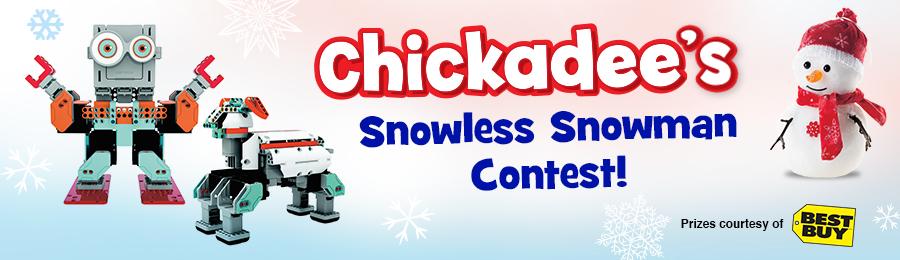 Chickadee Magazine: Contest Banner