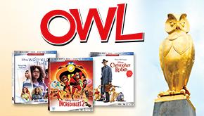 OWL Magazine: 2018 Movie Awards Contest Button